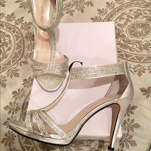 "Caparros ""Maddy"" Rhinestone Sandals"