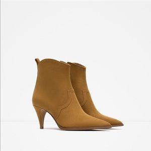 Zara High Heel Pointed Boots