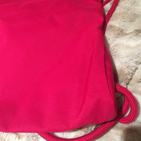 Nike - Hot pink & white Nike drawstring bag! from Logan's closet ...