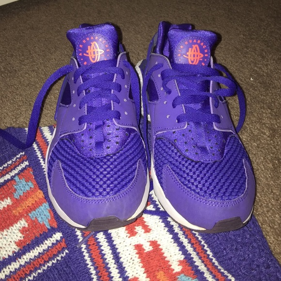 Nike Huarache Purple Orange