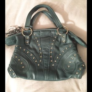 Bulga Handbags - Green BULGA Leather Shoulder Bag