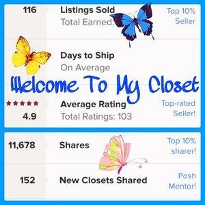 Hi, Welcome To My Closet!