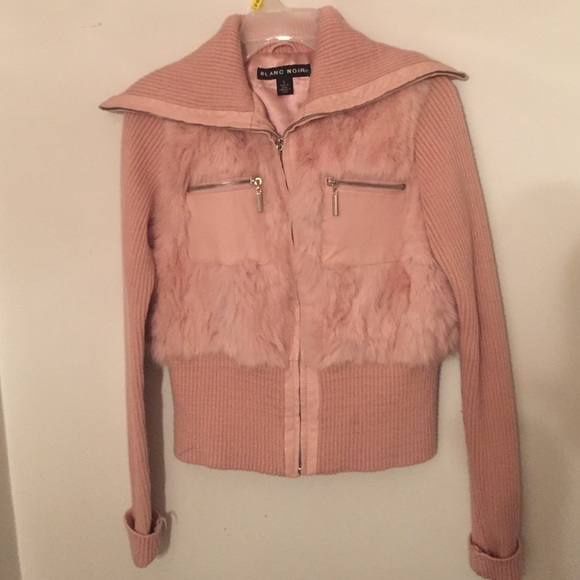 Blanc noir pink jacket