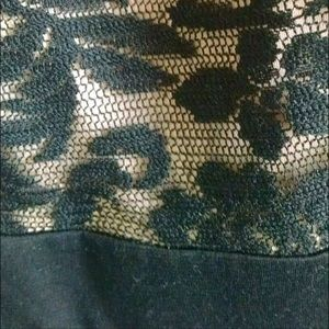 Finn & Clover Dresses - Finn & Clover floral lace strapless corset dress M