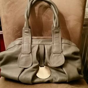 GUSTTO  Handbags - SALE!!! GUSTTO CALA Satchel in Charcoal Grey