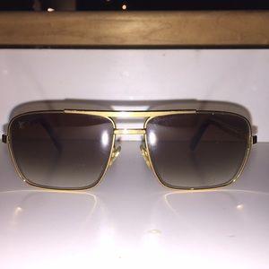 524cbbc8a7 Louis Vuitton Accessories - Louis Vuitton gold Attitude sunglasses
