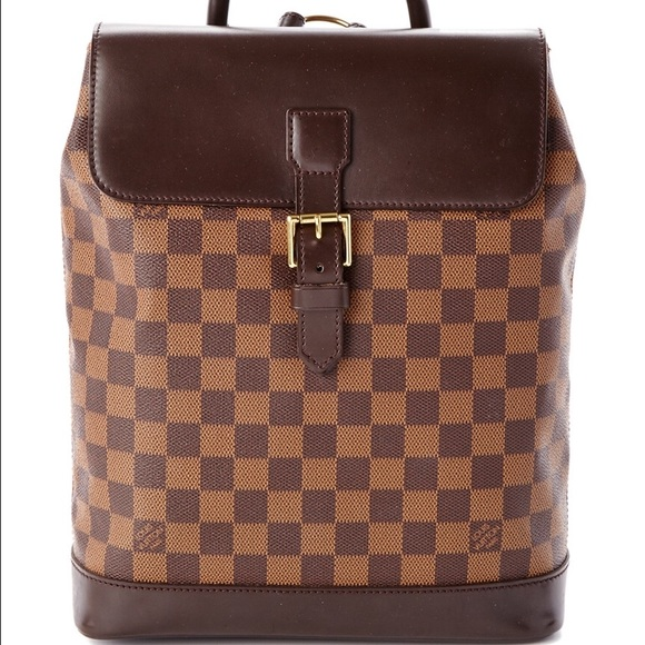 3f46e769411a Louis Vuitton Handbags - Louis Vuitton Damier Ebene Soho Backpack