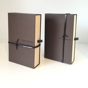 Louis Vuitton Wallet Hard Box