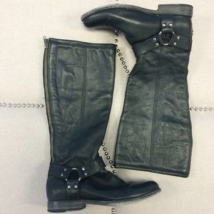 Frye Shoes - Frye Phillip Harness Tall Boot