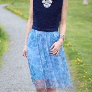 French Connection floral tulle Tutu skirt