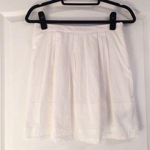 White Madewell skirt