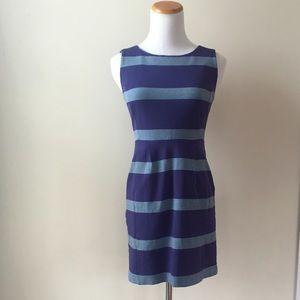 Fossil Striped Sheath Dress