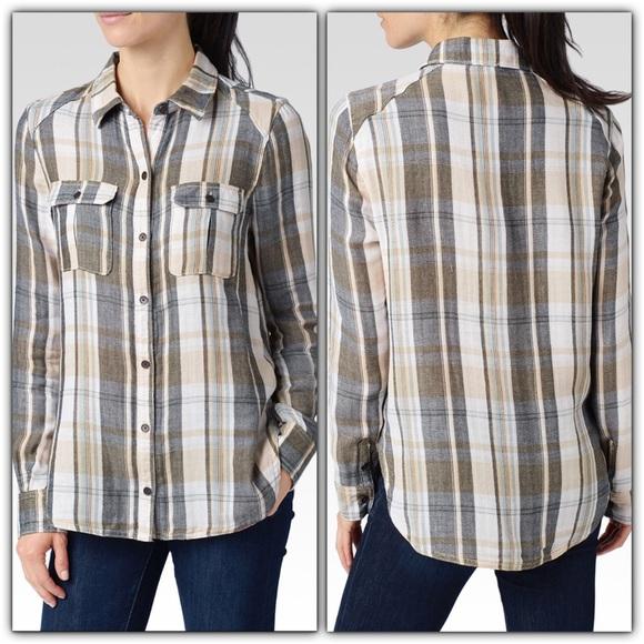 80 off paige jeans tops paige jeans super soft plaid for Super soft flannel shirts