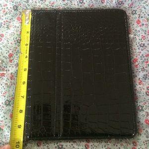 Black iPad/tablet case