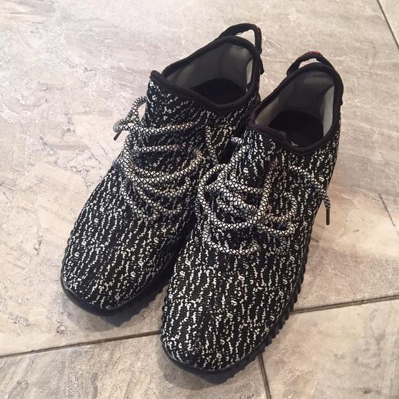 6fec9b2bf1492 Adidas Shoes - Pirate Black Yeezy 350 Boost