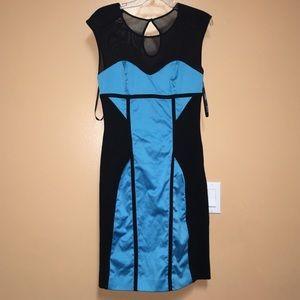 Bebe mesh dress medium