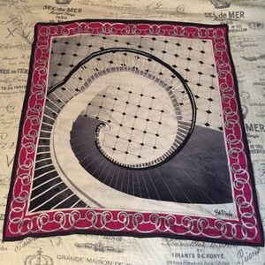 Bob Mackie Accessories - Bob Mackie silk scarf