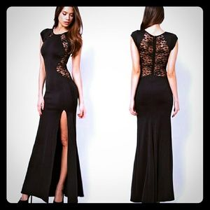 Dresses & Skirts - ****New! Black Lace Maxi**