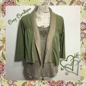 Anthropologie Sweaters - ~Anthro 'Olio Cardi' Relaxed & Cute ❣Sweaterknit~
