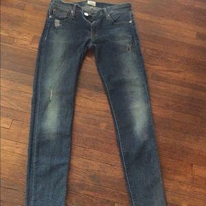 Hudson) krista super skinny jeans