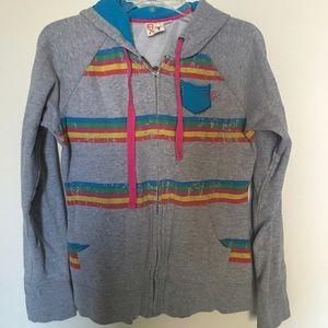 Roxy Front Zip Sweater