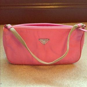 prada handbag pink