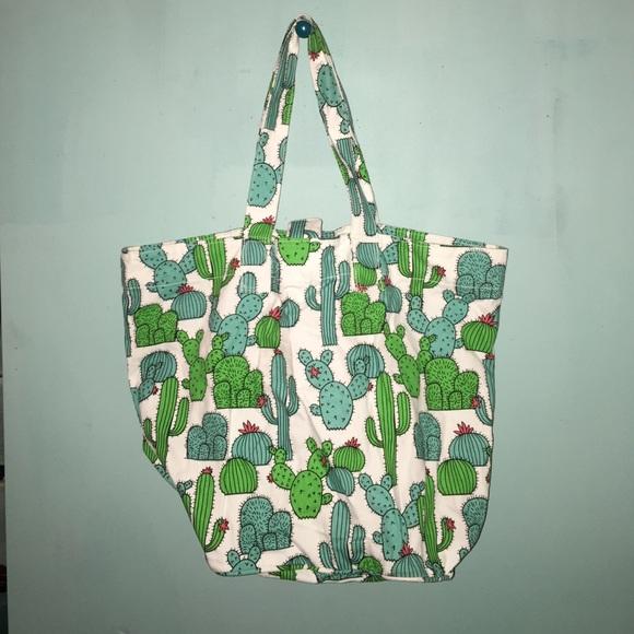 latest timeless design good looking Cactus beach bag