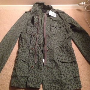 Army jacket from Forever 21!!