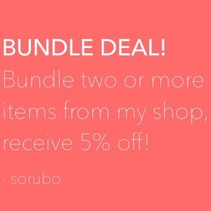 Other - Bundle deal!