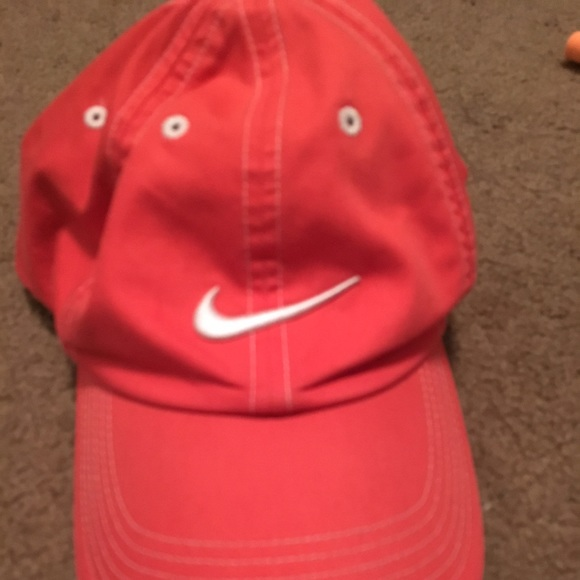 Nike Accessories - Coral Nike Hat 9977dc7fafc