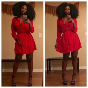Dresses & Skirts - Pretty Red Dress