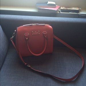 Kate Spade Wellesley Alessa Leather Satchel