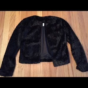 Brand new without tags faux fur jacket