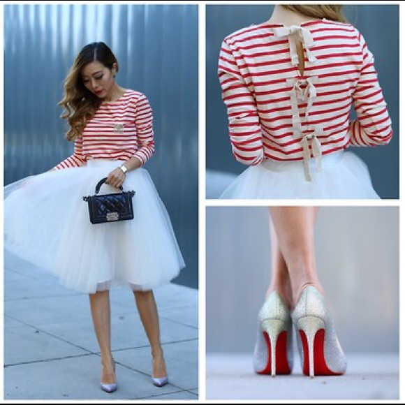 How to Style a Tulle Skirt; Poshmark