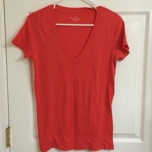J Crew Factory orange t-shirt