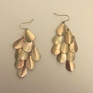 H&M Jewelry - Gold teardrop earrings