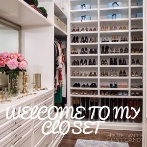 WELCOME TO MY CLOSET