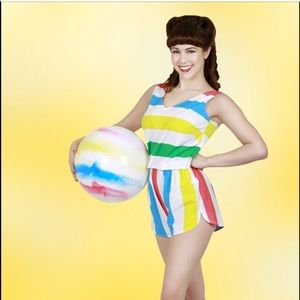 Tatyana Pants - Tatyana rainbow Playsuit