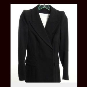 Anthropologie Cartonnier Black Pea Coat Blazer