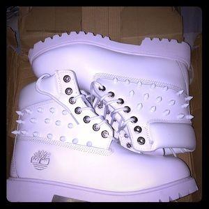 Timberland Shoes | All White Tim | Poshmark