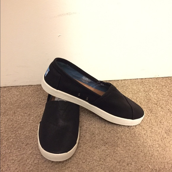0ea0679312f TOMS Coated Canvas Avalon Slip On