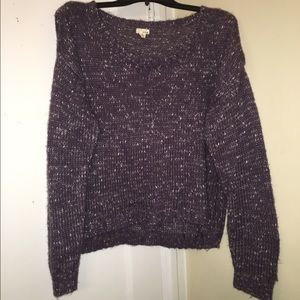 "Garage Sweaters - ""Garage"" Purple Sweater"