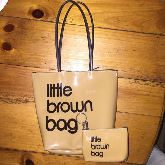 74aac6895e Bloomingdales Bags | Little Brown Bag | Poshmark