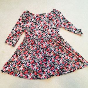 floral dress size medium