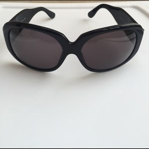 Versace large black sunglasses
