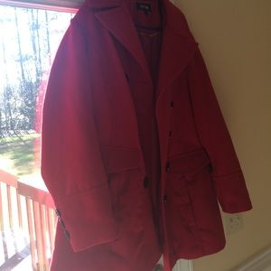 Apt. 9 Jackets & Blazers - Beautiful red coat-2X