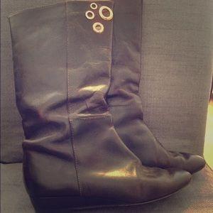 Loeffler Randall mid-calf boots