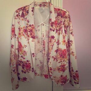 Floral Lauren Conrad blazer
