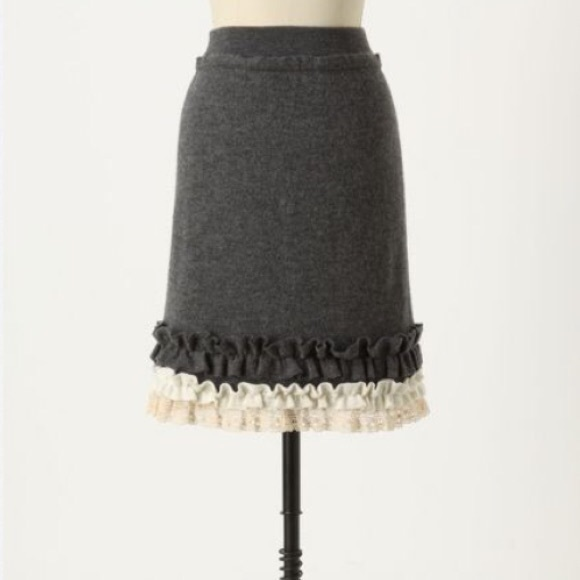 Anthropologie Skirts - Anthropologie Tria Sweater Skirt, medium