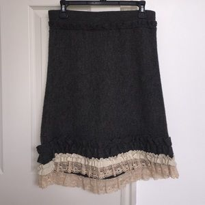 Anthropologie Skirts - Anthropologie Tria Sweater Skirt, medium